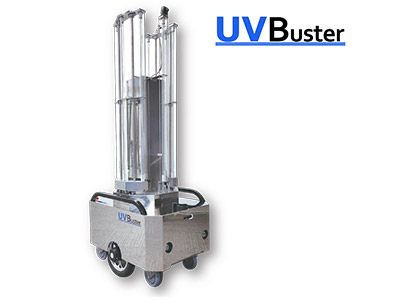 UVC紫外線照射ロボット UVBuster